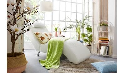 COLLECTION AB Relaxliege, in elegantem Design, wahlweise mit Kippfunktion, frei im Raum stellbar kaufen