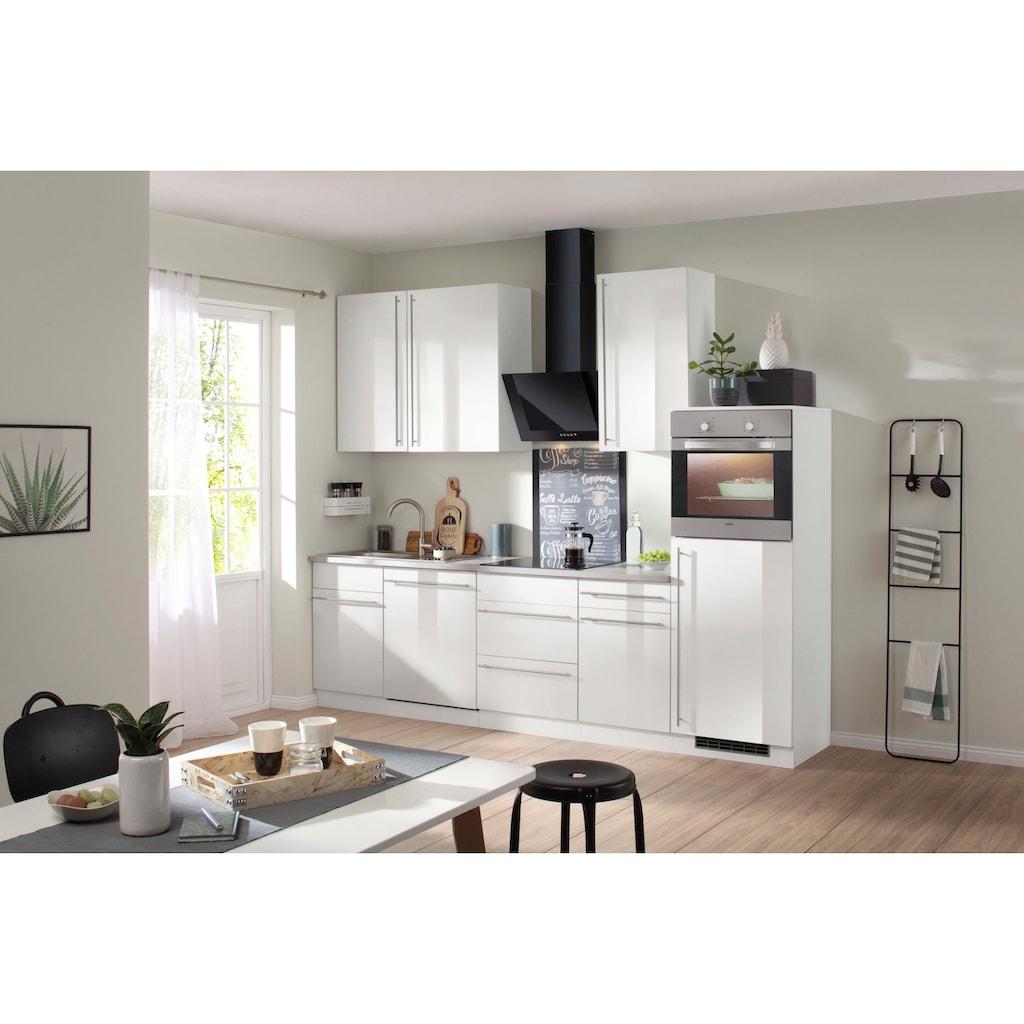 wiho Küchen Küchenzeile »Chicago«, ohne E-Geräte, Breite 280 cm