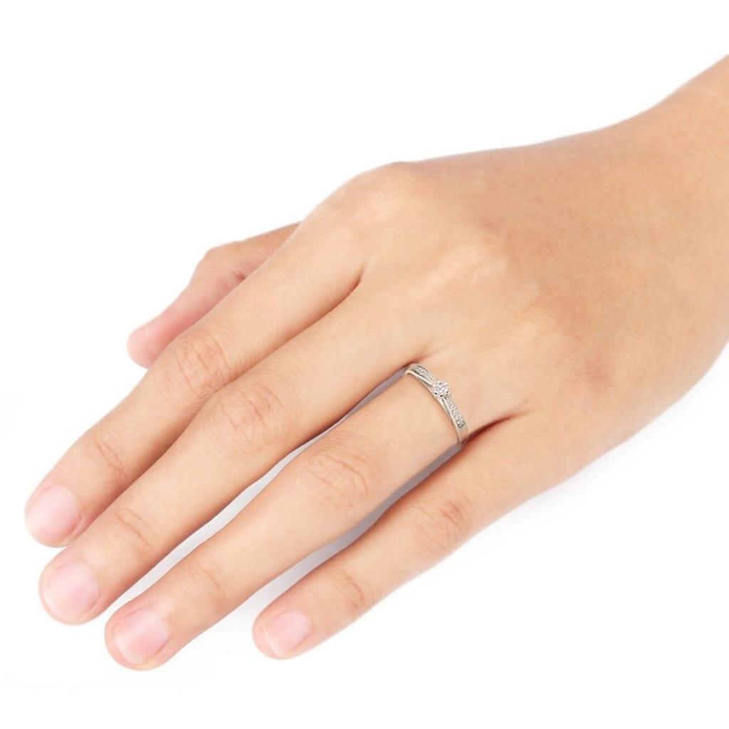 Diamore Verlobungsring »0604960414«, mit funkelnden Brillanten