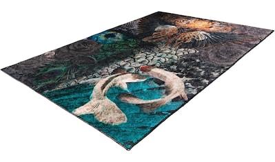 Obsession Teppich »Exotic 10m«, rechteckig, 5 mm Höhe, Kurzflor, Wohnzimmer kaufen