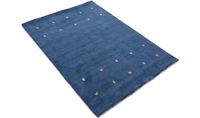 Wollteppich, »Gabbeh Uni«, carpetfine, rechteckig, Höhe 15 mm, handgewebt kaufen
