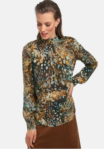 Uta Raasch Langarmbluse »Bluse zum Schlupfen«, mit Stehkragen kaufen