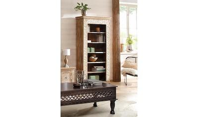 Home affaire Standregal »Malati«, mit dekorativen Fräsungen, Höhe 180 cm kaufen