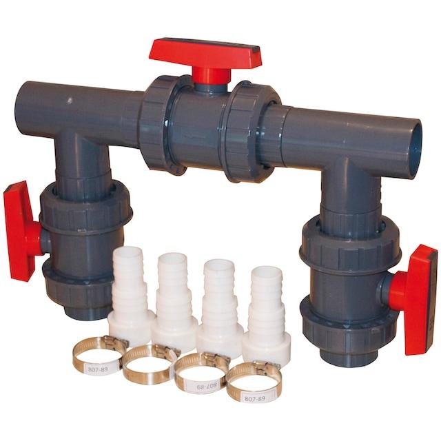 KWAD Wärmepumpe »Bypass Kit D50 für Wärmepumpen«, für Pools bis 60.000 l