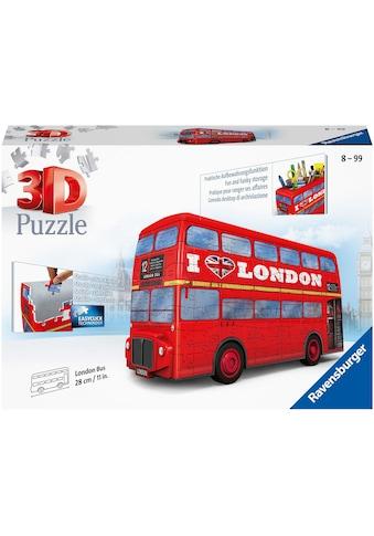 Ravensburger 3D-Puzzle »London Bus«, Made in Europe, FSC® - schützt Wald - weltweit kaufen
