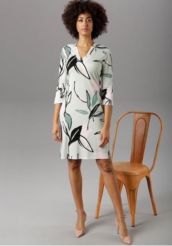 Aniston SELECTED Jerseykleid, im malerischen Druck - NEUE KOLLEKTION kaufen