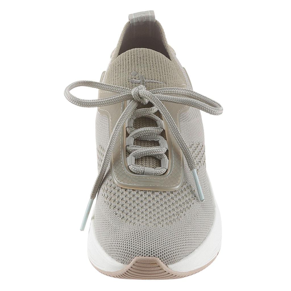 Tamaris Slip-On Sneaker »Fashletics«, mit sockenähnlichen Schaft