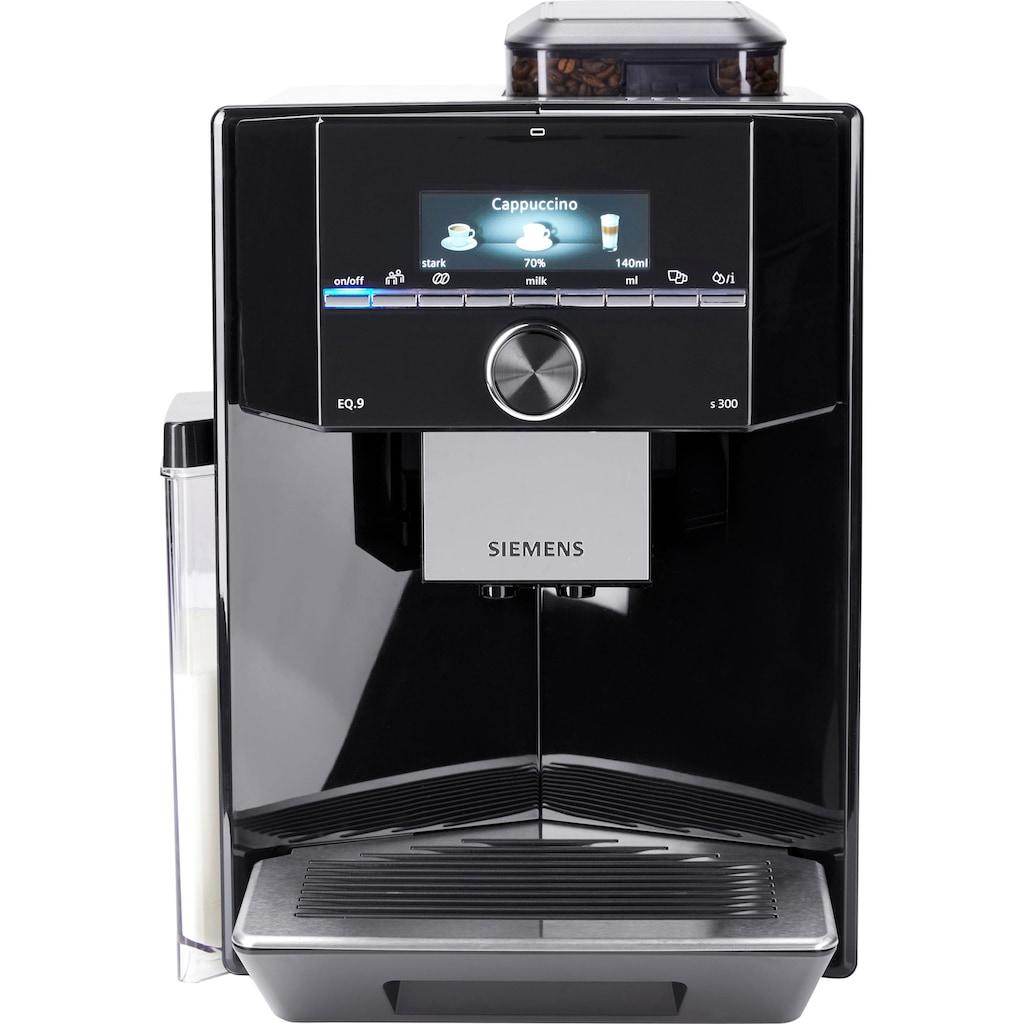 SIEMENS Kaffeevollautomat »EQ.9 s300 TI923509DE«, individualCoffee System: Persönliches Getränke-Menü für bis zu 6 Profile.