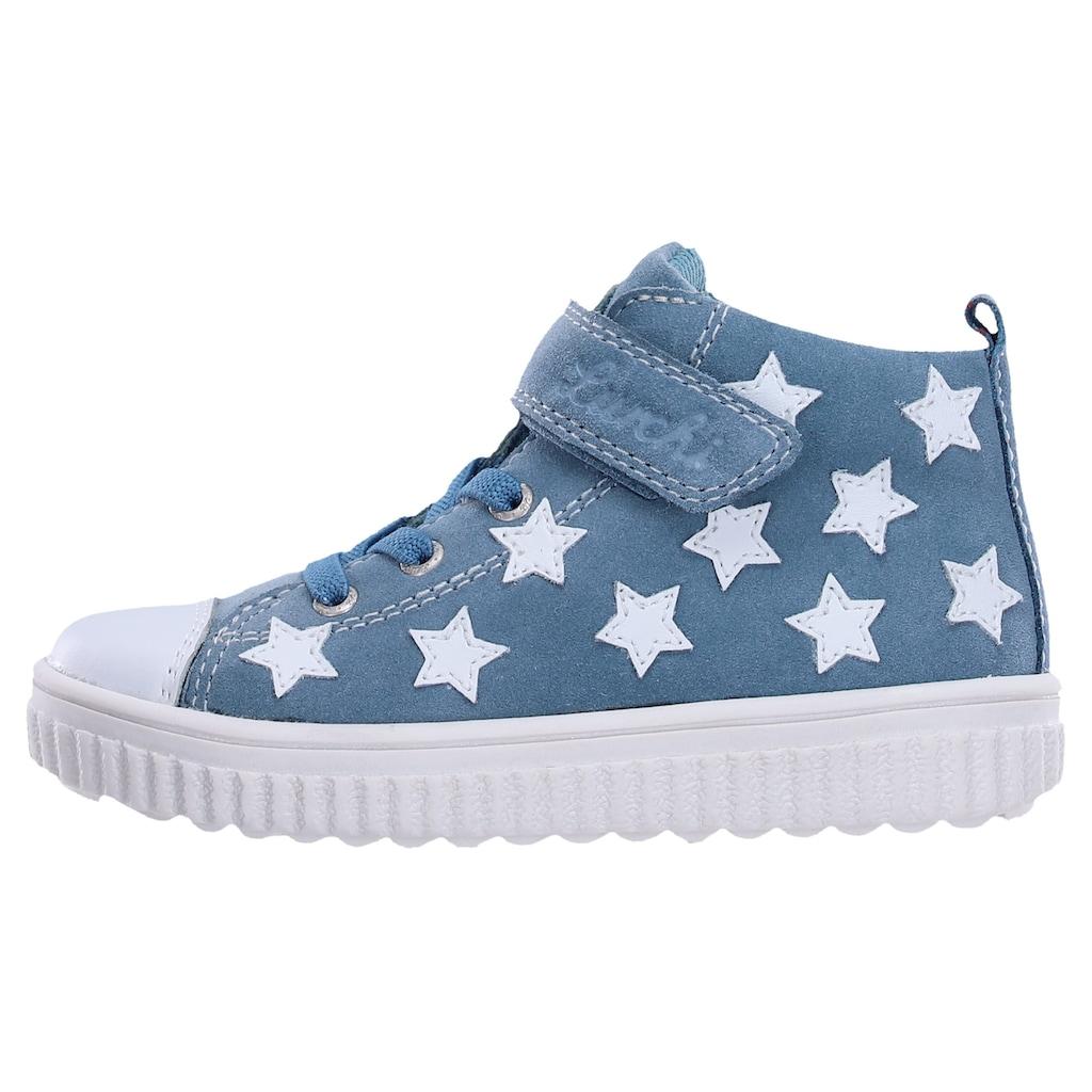 Lurchi Sneaker »Yeliz mit Weiten Messsystem: normal«, mit Klettriegel