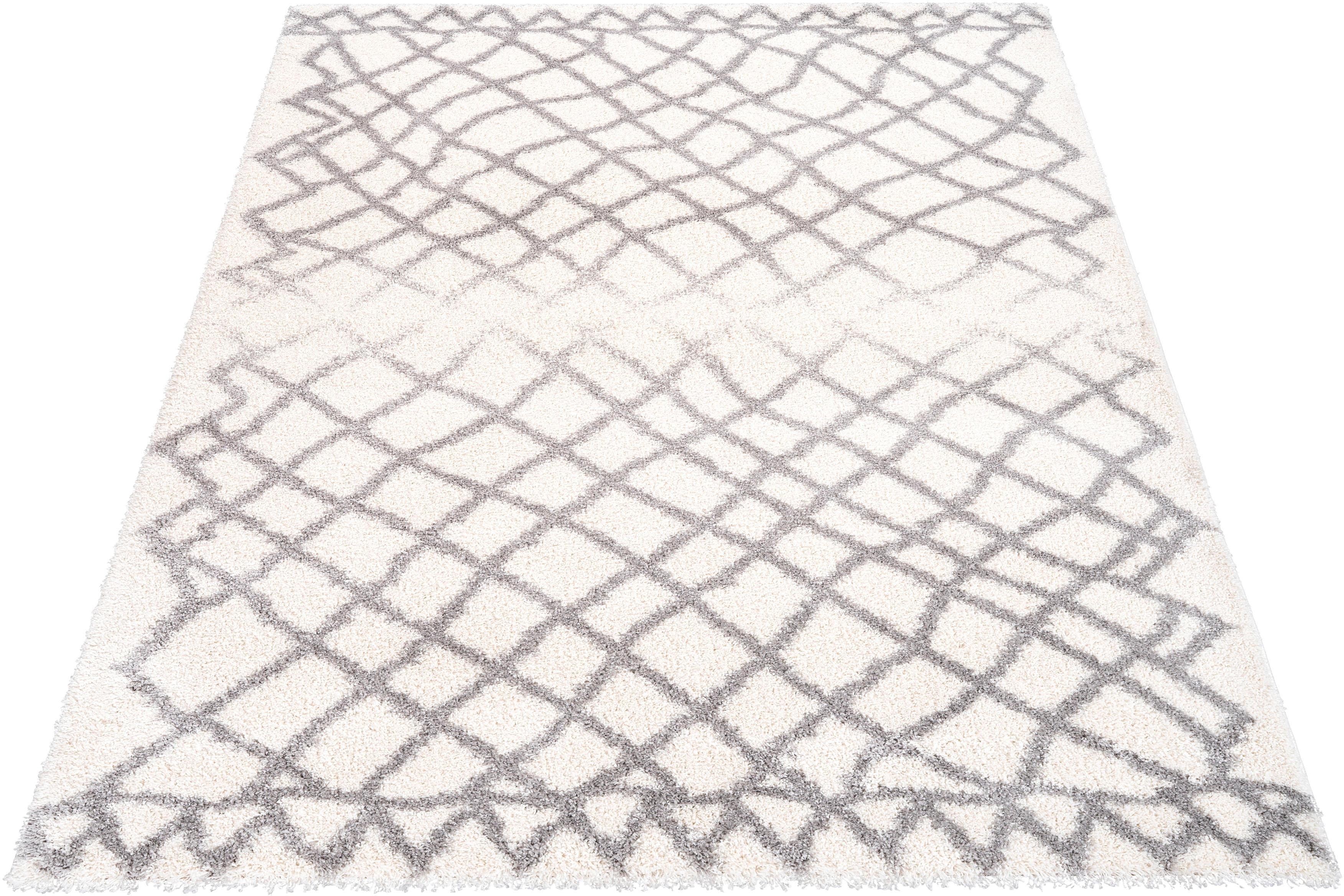 Hochflor-Teppich Saint Bruno Banani rechteckig Höhe 32 mm maschinell gewebt