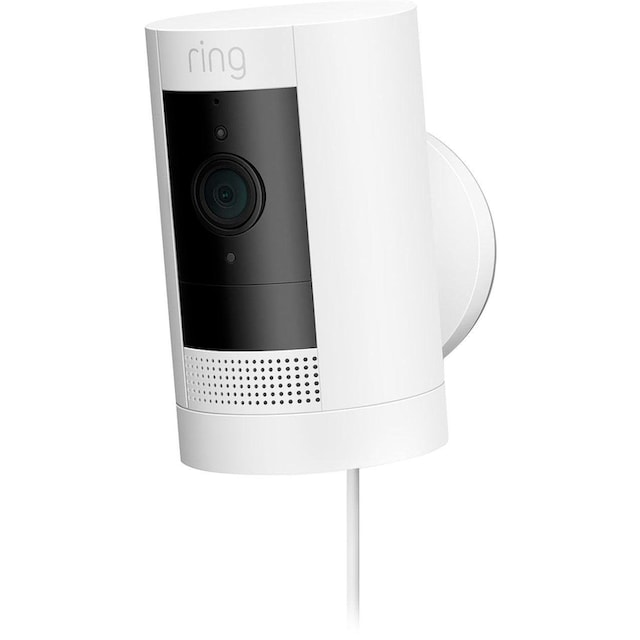 Ring »Stick Up Cam Plugin - White - EU« Smarter Bewegungssensor