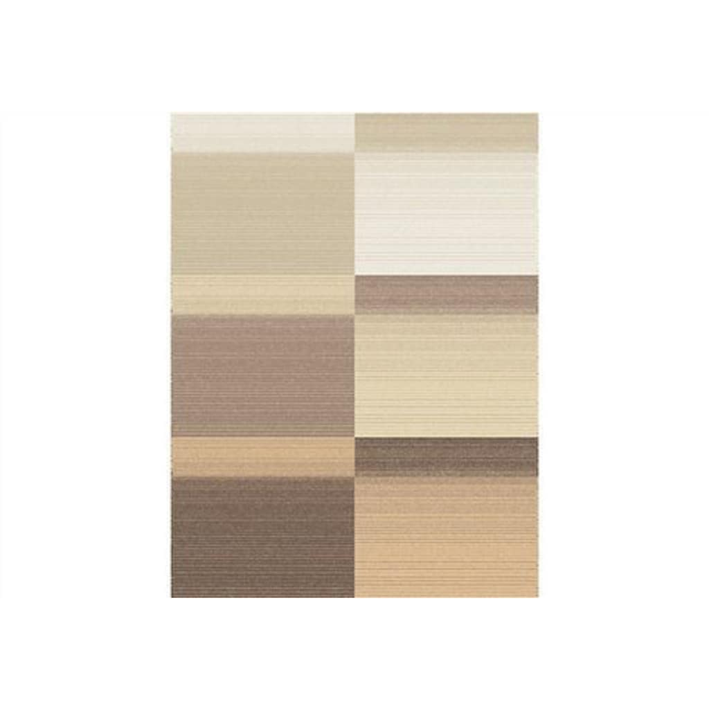 IBENA Wohndecke »Sorrento Jacquard«, sanfter Farbverlauf