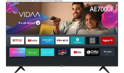 Hisense 70AE7000F LED - Fernseher (178 cm / (70 Zoll), 4K Ultra HD, Smart - TV kaufen