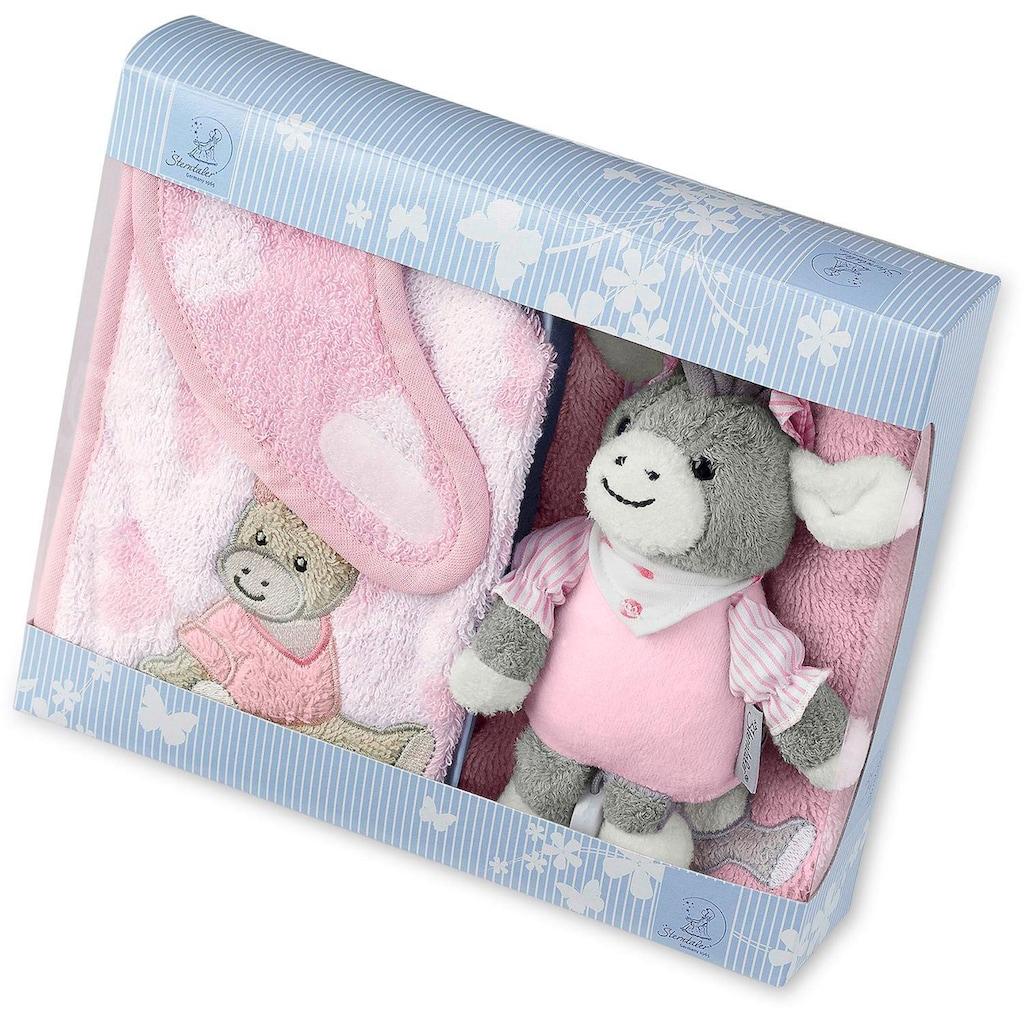 Sterntaler® Spieluhr »Emmi Girl«, mit Waschhandschuh und Lätzchen