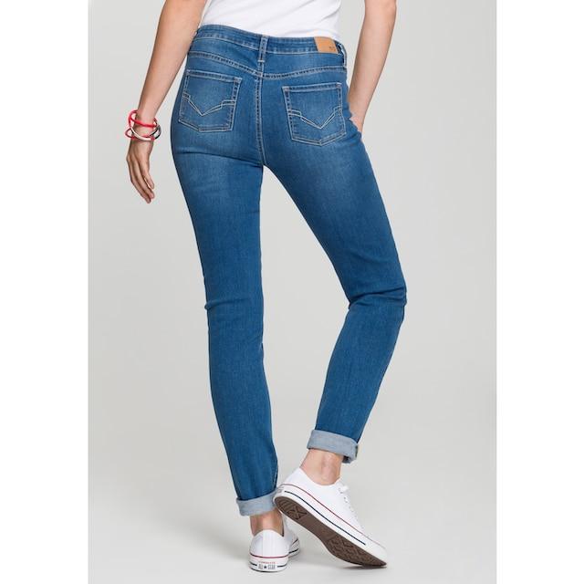 H.I.S Slim-fit-Jeans »High-Waist«