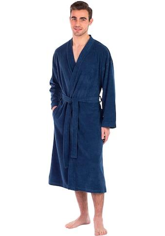 framsohn frottier Herrenbademantel »Jersey«, besonders leicht kaufen