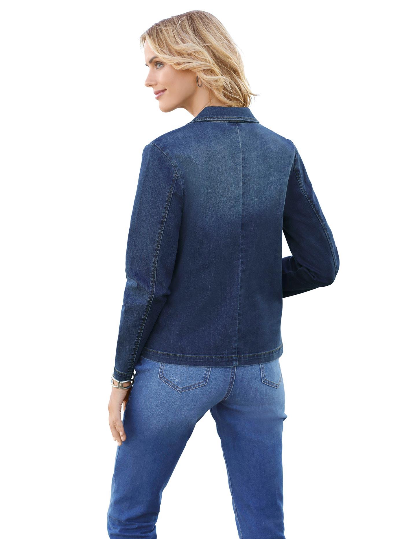 ambria blazer in jeans qualit t online shoppen baur. Black Bedroom Furniture Sets. Home Design Ideas