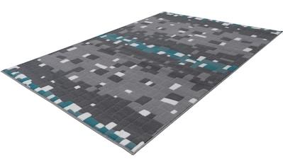 calo-deluxe Teppich »Brazda 060«, rechteckig, 10 mm Höhe, Kurzflor, Wohnzimmer kaufen