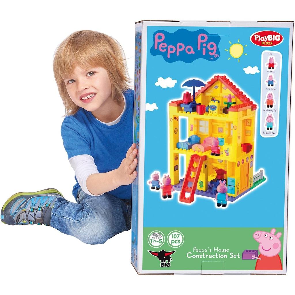 BIG Konstruktions-Spielset »BIG-Bloxx Peppa Pig, Peppa House«, (107 St.)