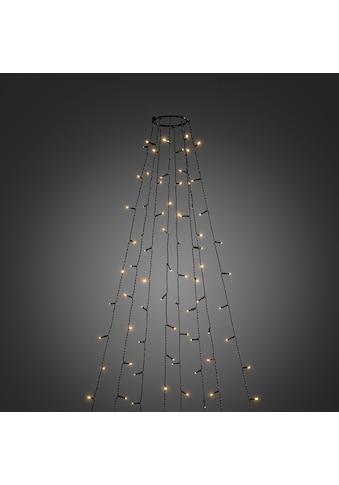 KONSTSMIDE LED-Lichtervorhang, 240 St.-flammig, LED Baummantel mit Ring Ø 11, 8... kaufen