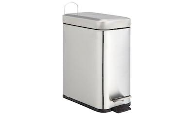 ADOB Kosmetikeimer »Abfallbehälter«, 5 L Edelstahl satiniert mit herausnehmbarem Inneneimer kaufen