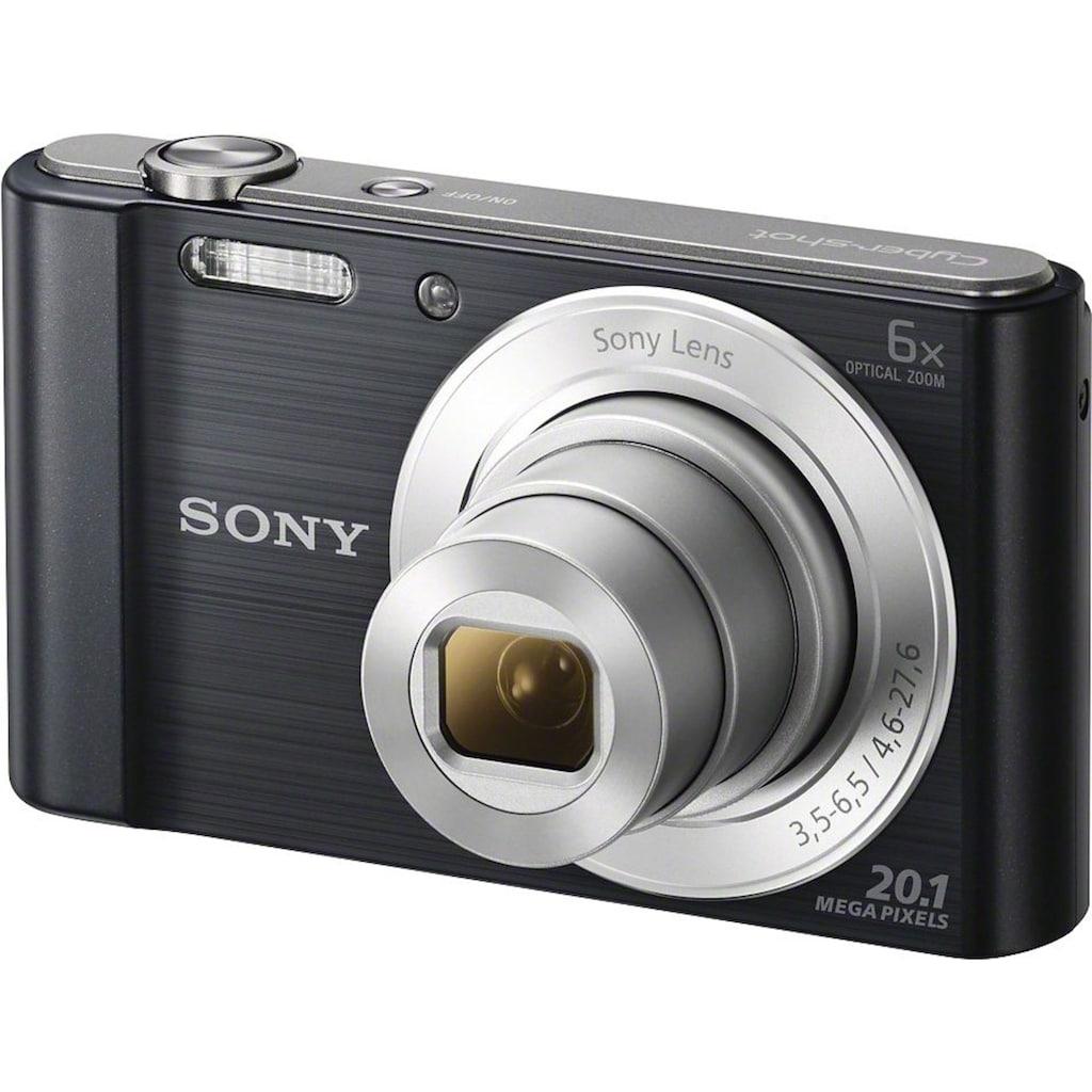 Sony »DSC-W810« Kompaktkamera (20,1 MP, 6x opt. Zoom)