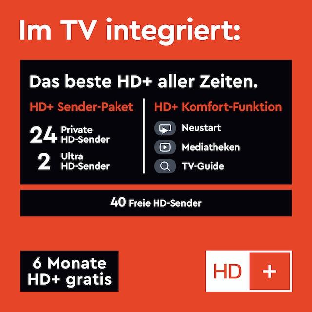 Telefunken D58U553M1CW LED-Fernseher (146 cm / (58 Zoll), 4K Ultra HD, Smart-TV