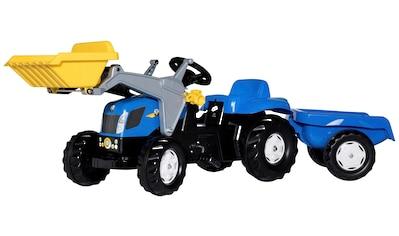 ROLLY TOYS Tretfahrzeug »NH T7040«, Traktor mit Trailer und Lader kaufen