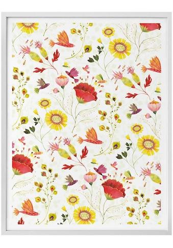 Wall-Art Poster »Märchen Wandbilder Florale Blumen«, Pflanzen, (1 St.), Poster,... kaufen