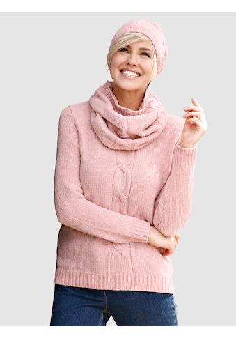 Dress In 3tlg. Set bestehend aus Pullover, Mütze und Loop kaufen