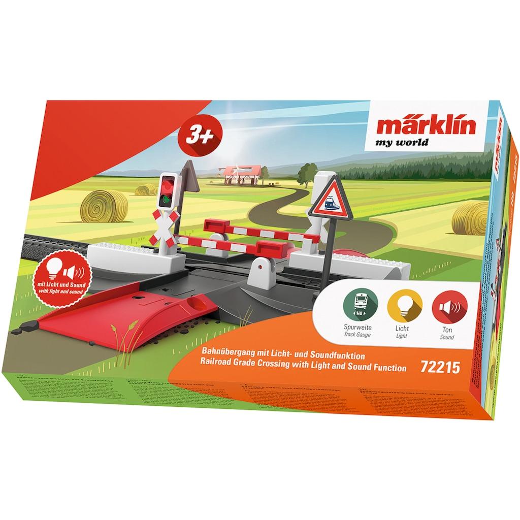 Märklin Modelleisenbahn-Übergang »Märklin my world - Bahnübergang - 72215«, Mit Licht- und Soundfunktion