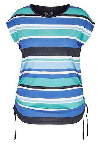 FRAPP Modernes T - Shirt mit Allover - Ringeln kaufen