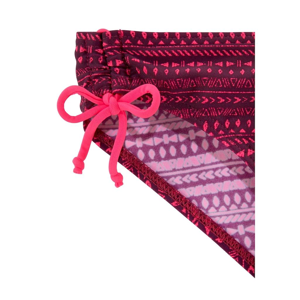 Buffalo Triangel-Bikini, mit Bändern in Kontrastfarbe