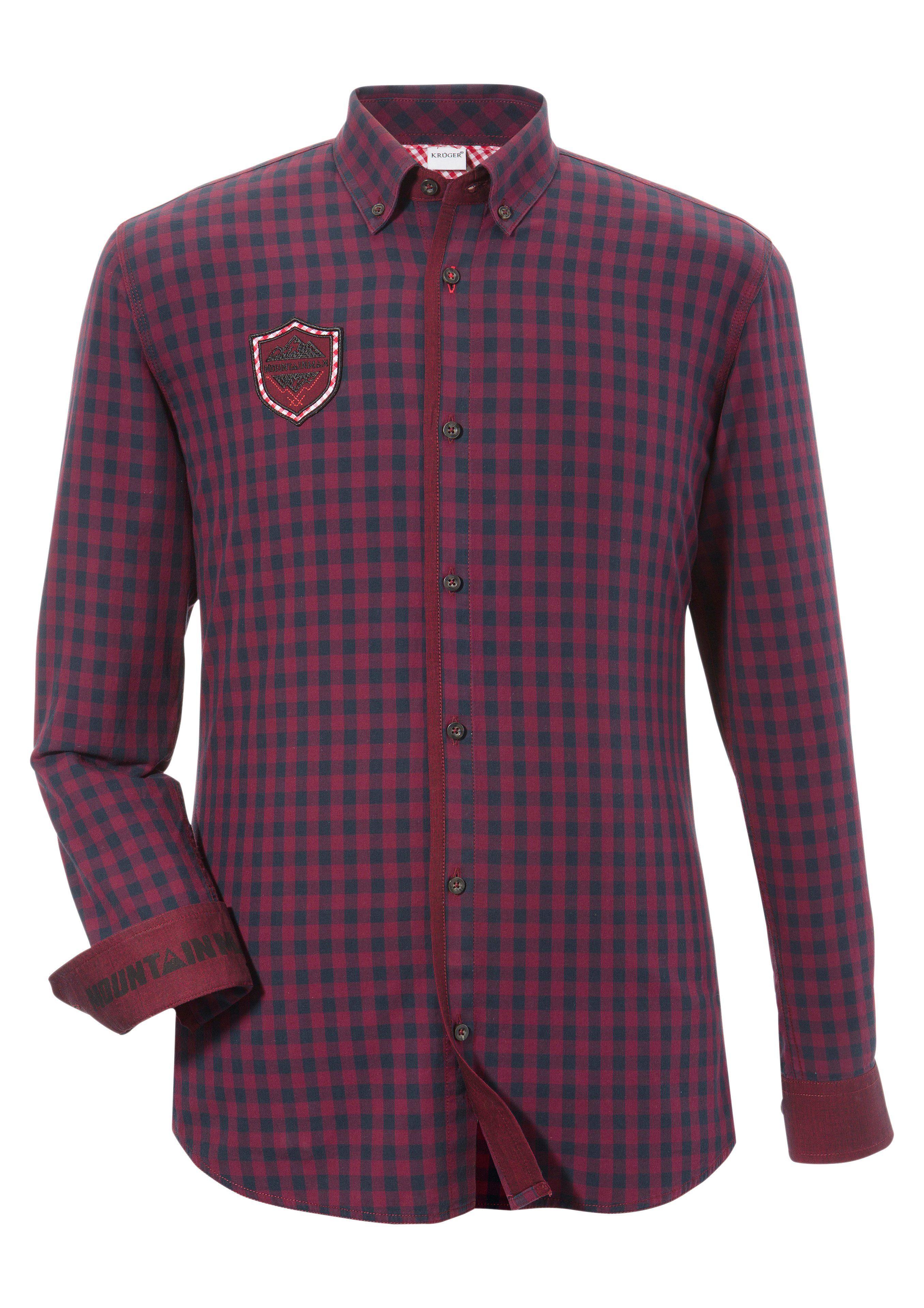 Andreas Gabalier Kollektion Trachtenhemd mit rockiger Applikation   Bekleidung > Hemden > Trachtenhemden   Andreas Gabalier Kollektion