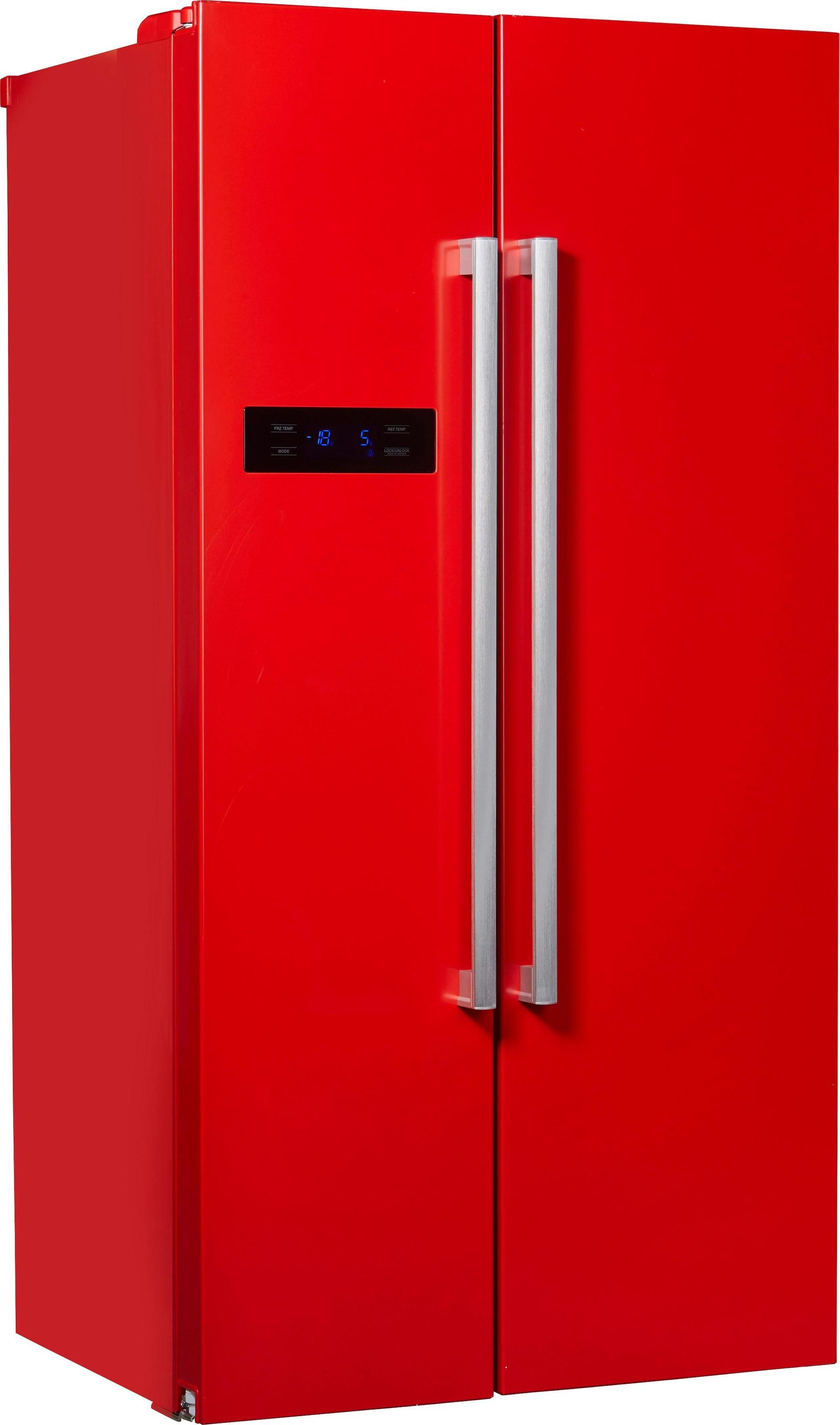 Amerikanischer Kühlschrank Breite : Side by side kühlschrank auf rechnung raten kaufen