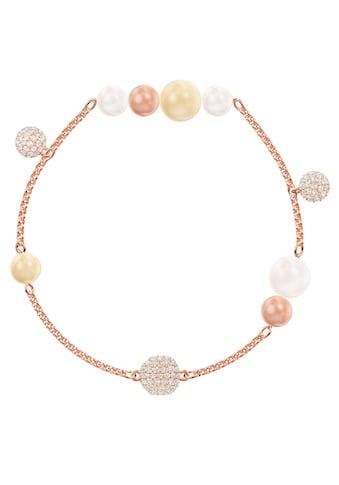 Swarovski Armband »Swarovski Remix Collection Pearl Strand, mehrfarbig, rosé Vergoldung, 5464297 M, 5479007 L« kaufen