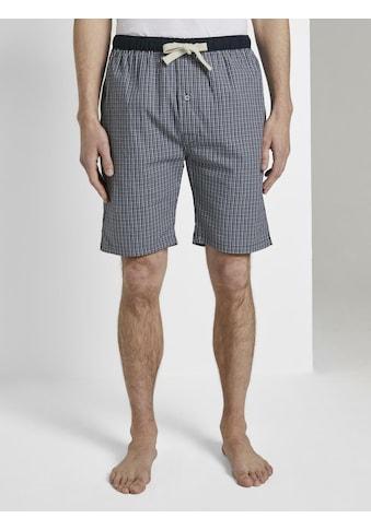 TOM TAILOR Pyjamashorts »Pyjama Shorts« kaufen