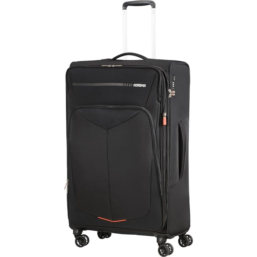 American Tourister® Weichgepäck-Trolley »Summerfunk, 79 cm, black«, 4 Rollen