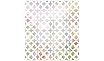MySpotti Fensterfolie »Look Chadi white«, halbtransparent, glattstatisch haftend, 90 x... kaufen