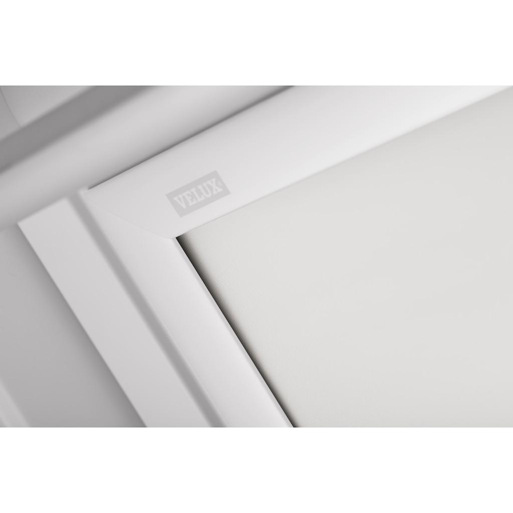 VELUX Verdunklungsrollo »DKL C06 1025SWL«, verdunkelnd, Verdunkelung, in Führungsschienen, weiß