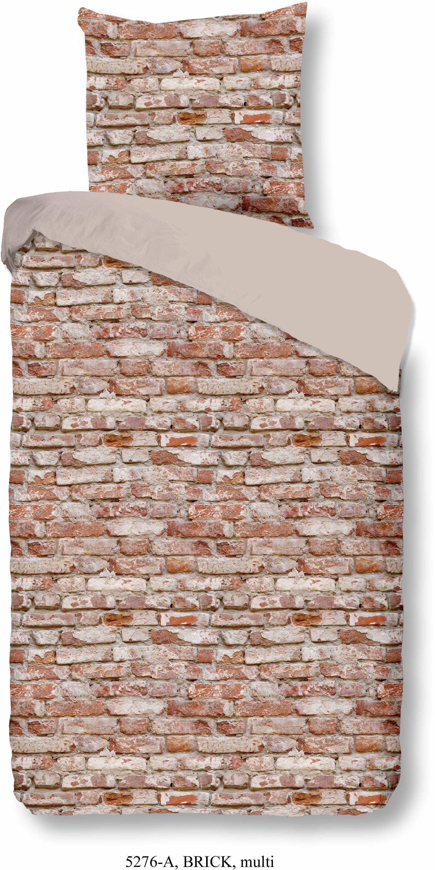 Wendebettwäsche Brick good morning