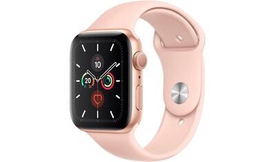Apple Series 5 GPS, Aluminiumgehäuse mit Sportarmband 44mm Watch (Watch OS 6) kaufen