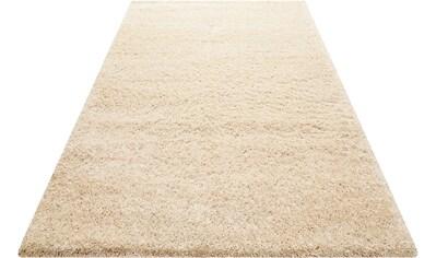 Hochflor - Teppich, »Paula«, Wecon home Basics, rund, Höhe 55 mm, maschinell gewebt kaufen