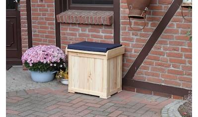 promadino Kissenbox »Patrick«, mit blauer Sitzauflage kaufen