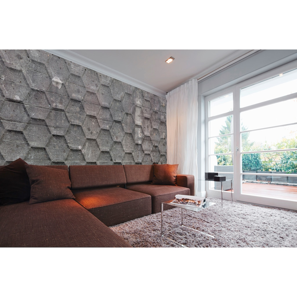 Architects Paper Fototapete »Atelier 47 Honeycomb 2«, geometrisch