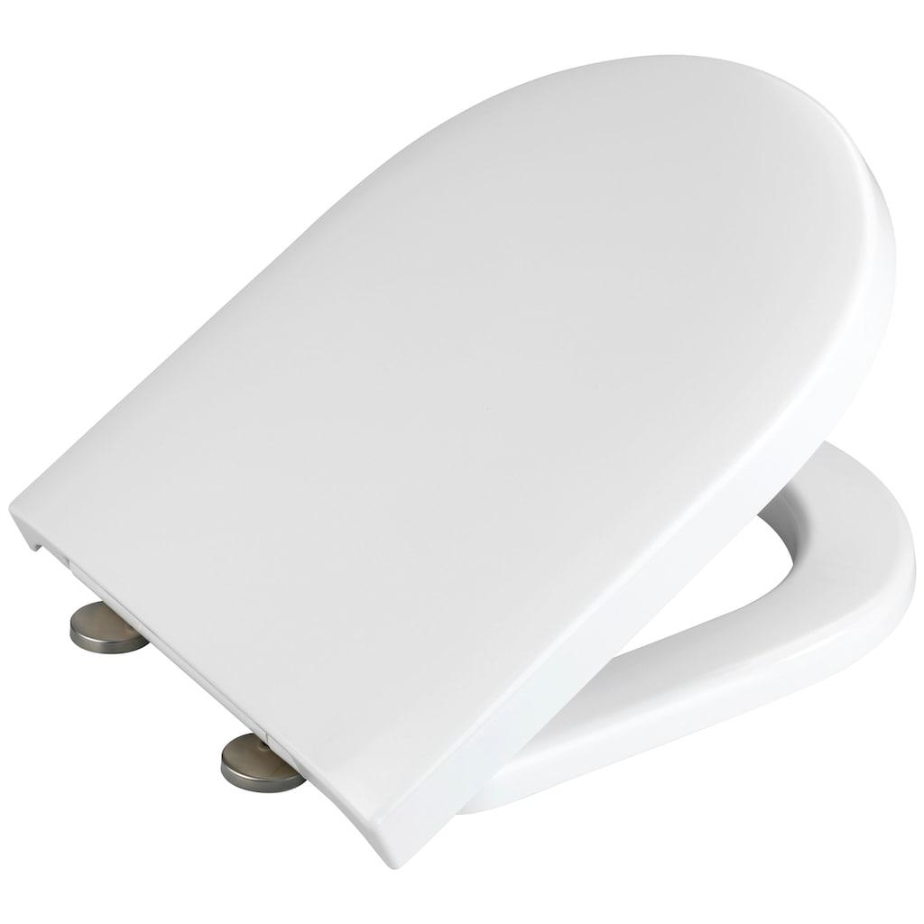 WENKO WC-Sitz »Exclusive Nr. 1«, aus Duroplast, mit Absenkautomatik