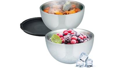 Elo  -  Meine Küche Thermoschüssel Edelstahl, (Set 2 - tlg.) kaufen