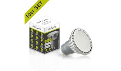 INNOVATE GU10 LED-Leuchtmittel in praktischem 10er-Set kaufen