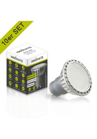 INNOVATE GU10 LED - Leuchtmittel in praktischem 10er - Set kaufen