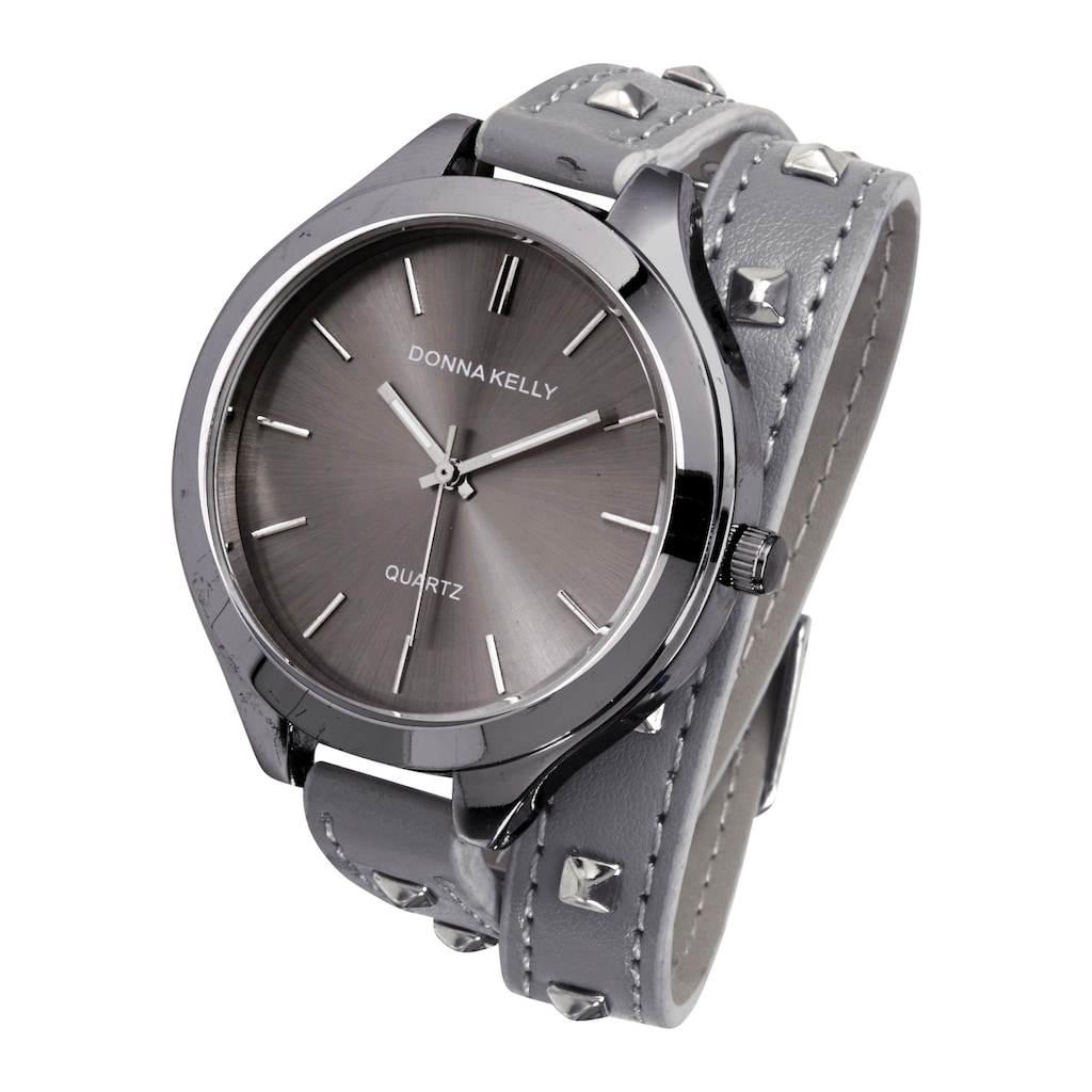 Armbanduhr in Wickeloptik